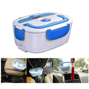 12V Electric Lunch Box Heating Warmer Food Container For cars and Track drivers