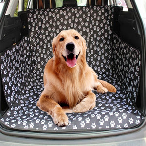 Pet Carriers Dog Car Seat Cover Oxford Fabric Trunk Mat Cover Protector Carrying For Cats Dogs
