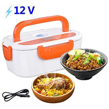 Load image into Gallery viewer, 12V Electric Lunch Box Heating Warmer Food Container For cars and Track drivers