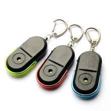 Load image into Gallery viewer, Anti-Lost Alarm Key Finder Keychain WhistleLocator  Sound LED Light Bluetooth Anti-Drop Device
