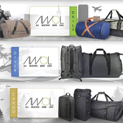 AWOL™ All Weather Odor Lock Bags