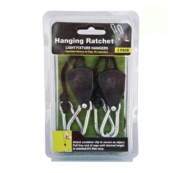 DL Wholesale Light Hangers 1/8'' Rope Ratcheting Light Hangers (2 pc.)