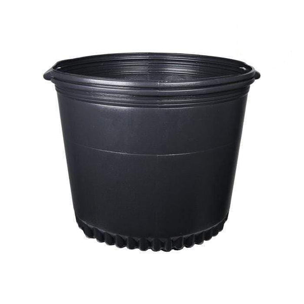 DL Wholesale Round Pots, Thermoform_Blow Mold Pots 10 Gal. Thermoformed Pot