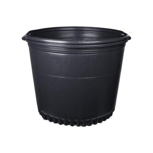 DL Wholesale Round Pots, Thermoform_Blow Mold Pots 15 Gal. Thermoformed Pot