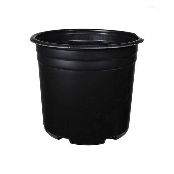 DL Wholesale Round Pots, Thermoform_Blow Mold Pots 2 Gal. Thermoformed Plastic Pot
