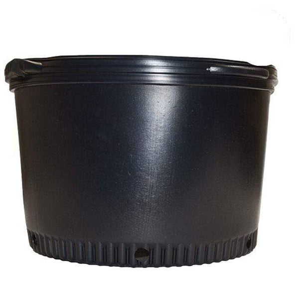 DL Wholesale Round Pots, Thermoform_Blow Mold Pots 20 Gal. Squat Thermoformed Pot