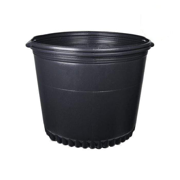 DL Wholesale Round Pots, Thermoform_Blow Mold Pots 25 Gal. Thermoformed Pot