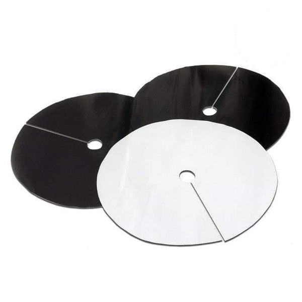 DL Wholesale Grow Lids 4.5'' B&W  Round Grow Lids