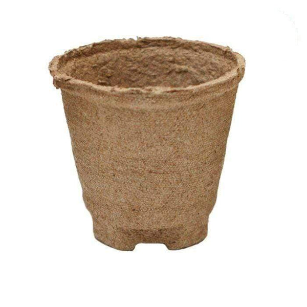 DL Wholesale Peat Pots 4''x3.75'' Round Jiffy Peat Pot (Case of 1100 pots)