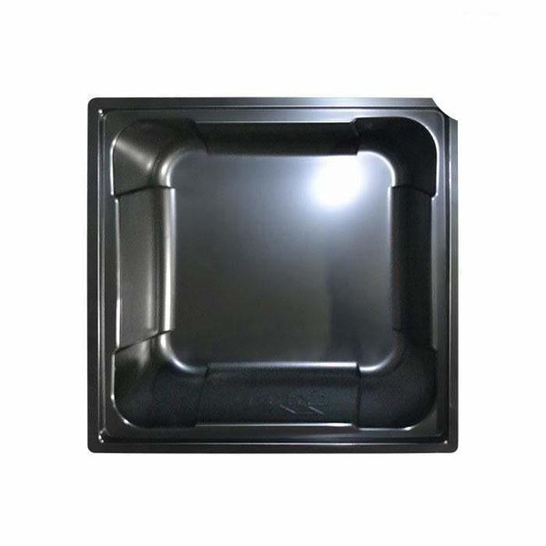 DL Wholesale Square Black Reservoirs 75 Gallon Black X-Tray Square Reservoir res gal