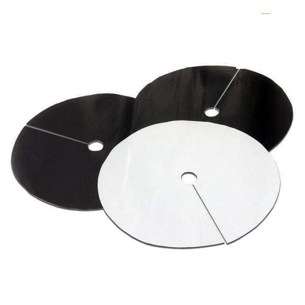 DL Wholesale Grow Lids 8.5'' B&W  Round Grow Lids