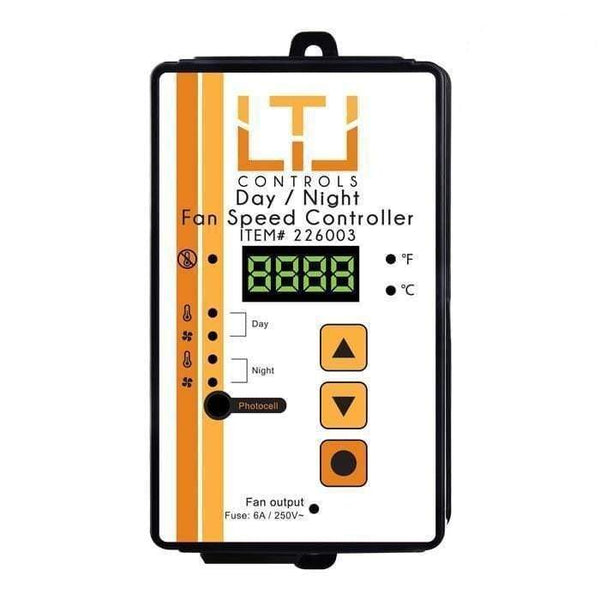 DL Wholesale Motor Speed Controller LTL Day/Night Fan Speed Controller