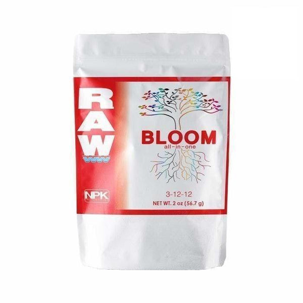 DL Wholesale NPK Industries, RAW Solubles, RAW Bloom All-In-One NPK RAW BLOOM 2oz