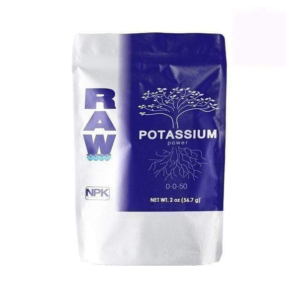 DL Wholesale NPK Industries, RAW Solubles, RAW Potassium NPK RAW Potassium 2oz
