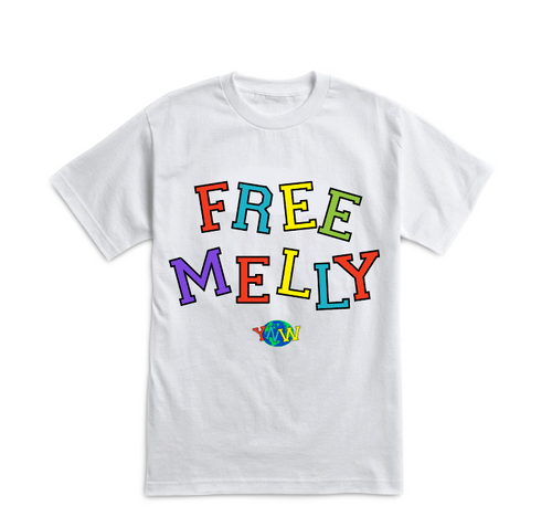 Free Melly White Tee
