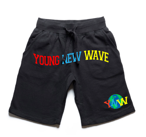 Young New Wave Cotton Shorts