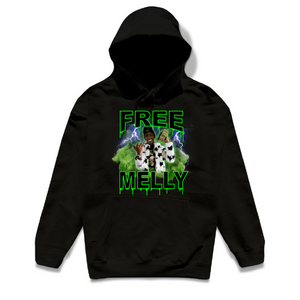 Free Melly Green Smoke Hoodie