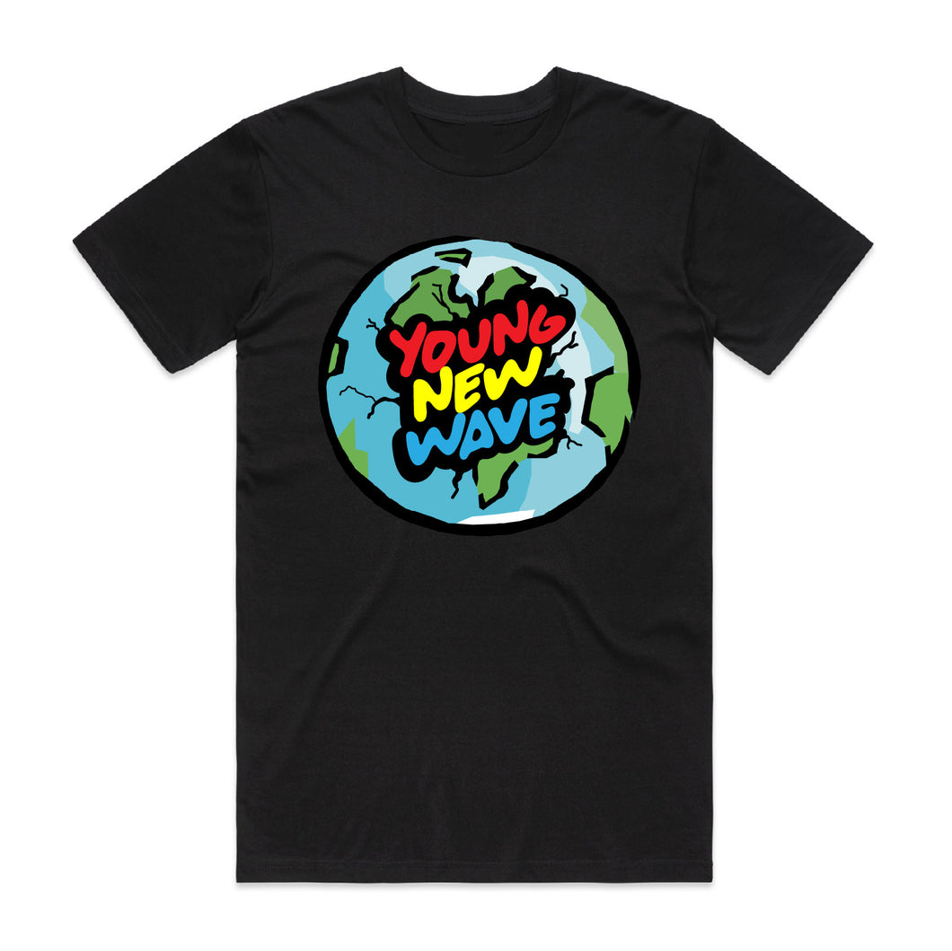 Young New Wave Global Tee Black