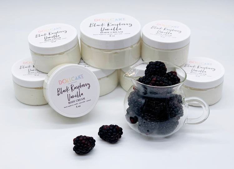 Black Raspberry Vanilla Goat Milk Body Cream