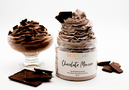 Chocolate Mousse Whipped Soap