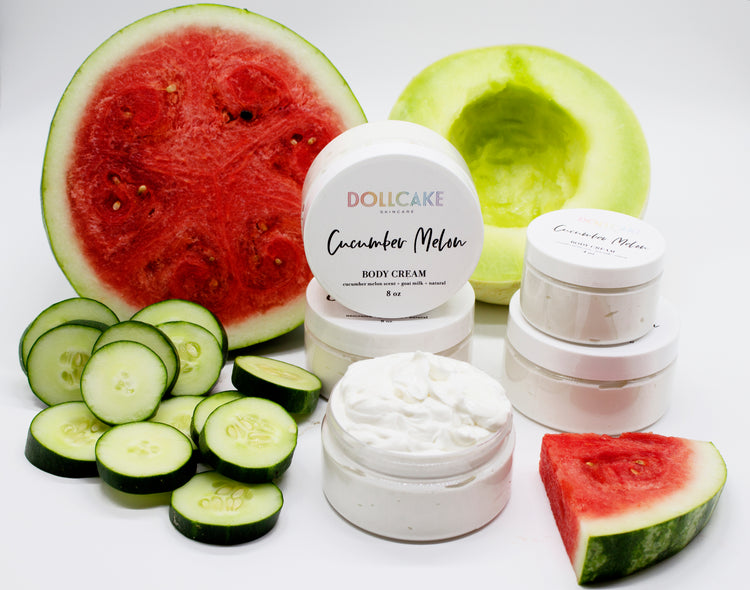 Cucumber Melon Goat Milk Body Cream