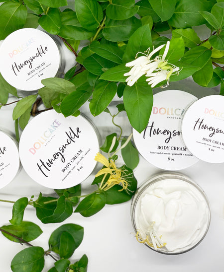 Honeysuckle Goat Milk Body Cream