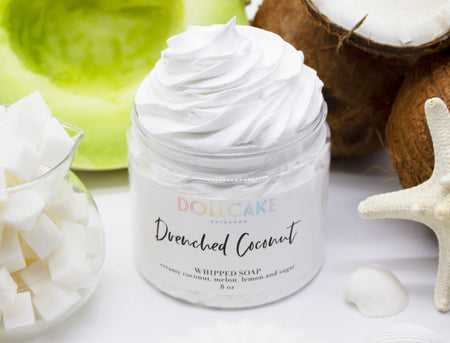 Drenched Coconut Whipped Soap