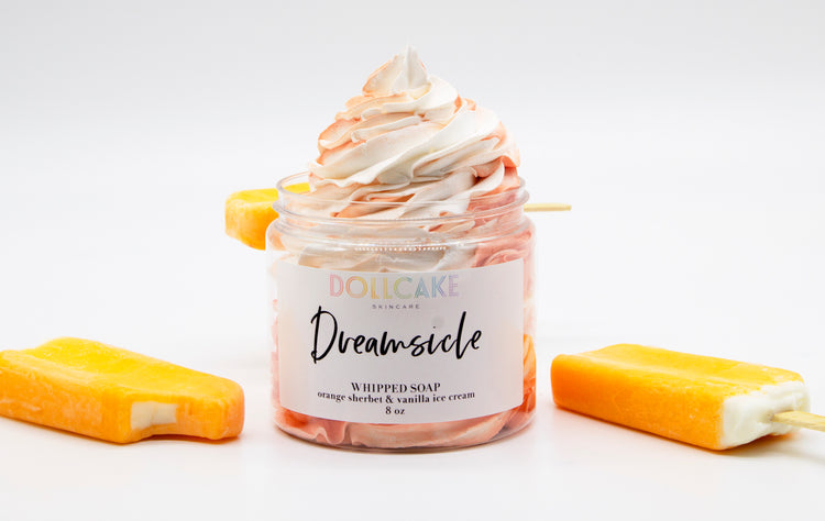 Dreamsicle Whipped Soap