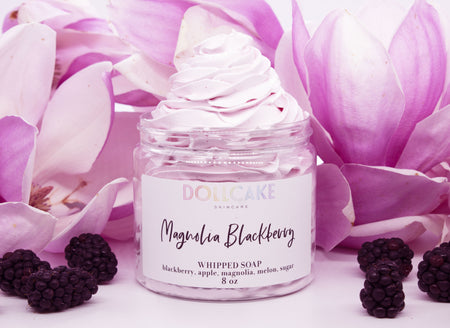 Magnolia Blackberry Whipped Soap
