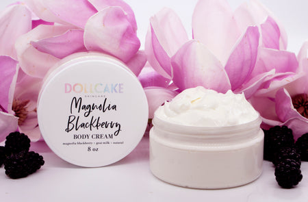Magnolia Blackberry Goat Milk Body Cream