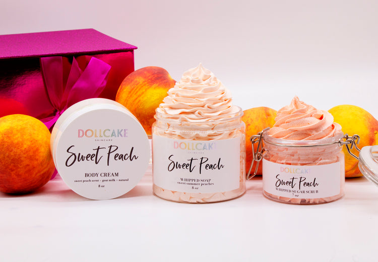Sweet Peach Gift Set