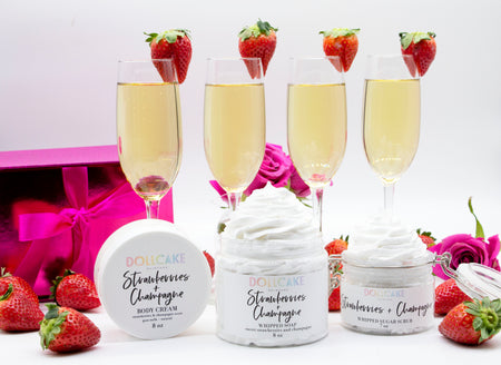 Strawberries and Champagne Gift Set