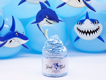 Shark Attack Whipped Soap