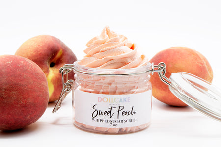 Sweet Peach Whipped Sugar Scrub