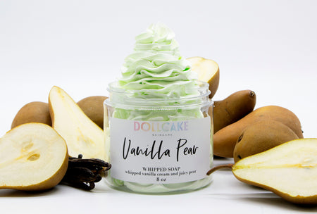 Vanilla Pear Whipped Soap