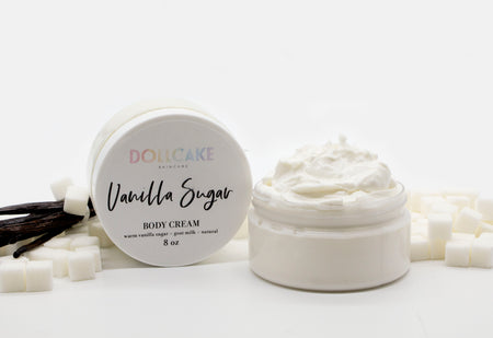 Vanilla Sugar Goat Milk Body Cream