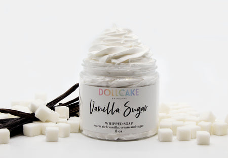 Vanilla Sugar Whipped Soap