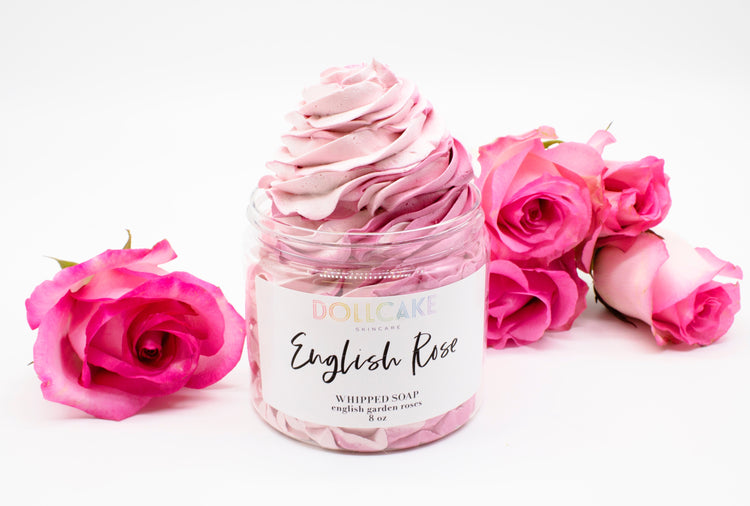 English Rose Whipped Soap