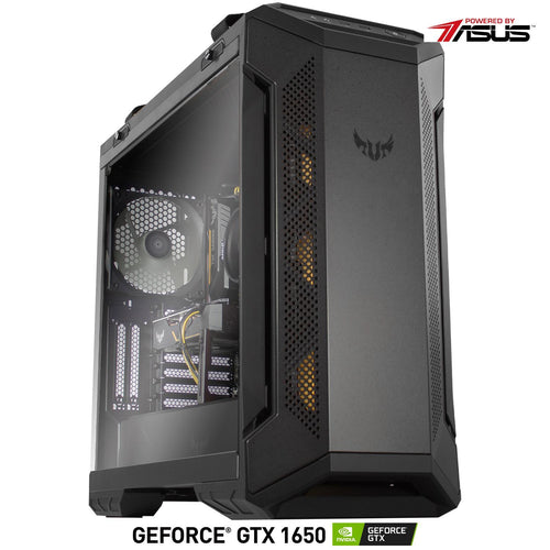 GAMING PC RYZEN 5 16GB DDR4 GTX 1650 4GB DDR5 SSD 240GB HDD 1TB