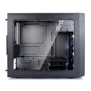 GABINETE FRACTAL DESIGN FOCUS MINI BLACK , MICRO ATX