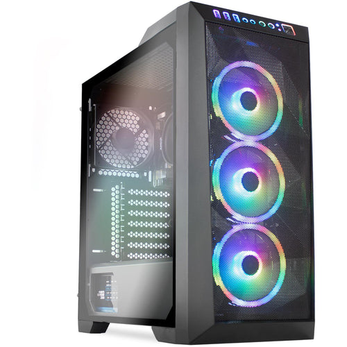 GAMING PC RYZEN 7 PRO 16GB DDR4 RADEON 8 RENOIR SSD 120GB HDD 2TB