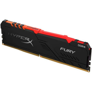 MEMORIA RAM KINGSTON HYPERX FURY RGB DDR4 8GB 3466MHZ INTEL XMP CL16 HX434C16FB3A/8