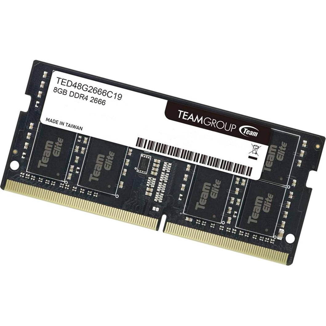 MEMORIA RAM SODIMM TEAMGROUP TEAM ELITE DDR4 8GB 2666 MHZ TED48G2666C19-S01