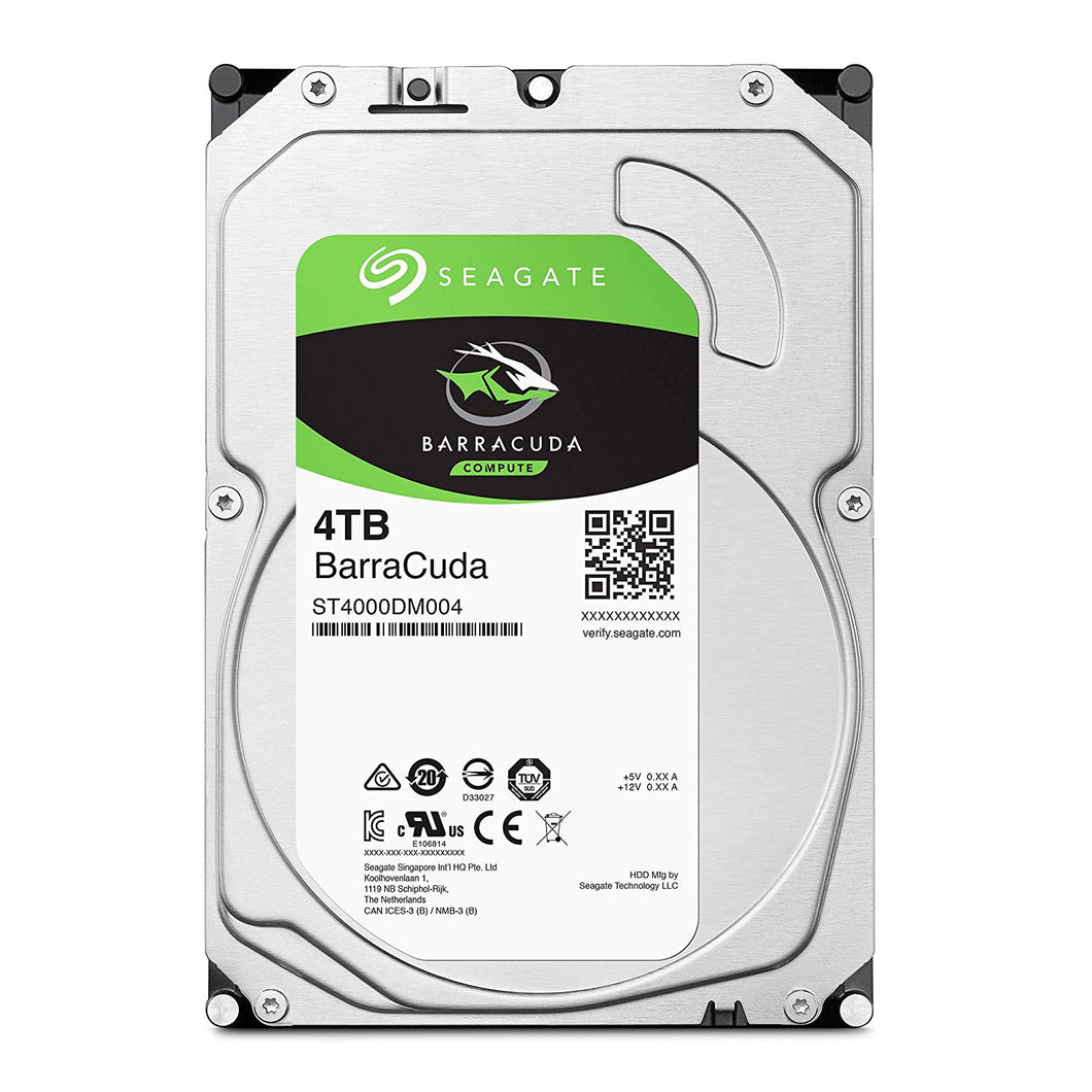 DISCO DURO SEAGATE BARRACUDA 3.5 4TB SATA3 6GB/S 5900RPM 64MB P/PC ST4000DM004