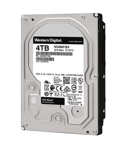 DISCO DURO WD BLACK 3.5 4TB SATA3 6GB/S 256MB 7200RPM WD4005FZBX