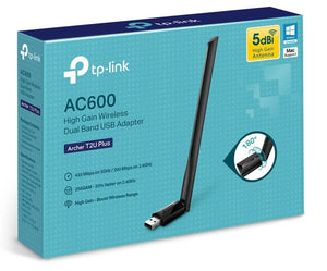 TARJETA DE RED INALAMBRICA TP-LINK AC600 ARCHER T2U PLUS USB