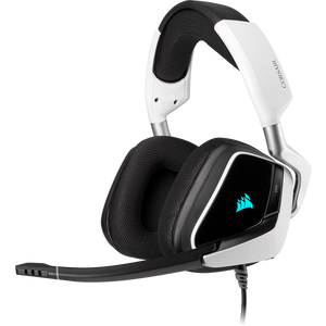 DIADEMA CORSAIR VOID RGB ELITE SURROUND 7.1 USB WHITE CA-9011204-NA
