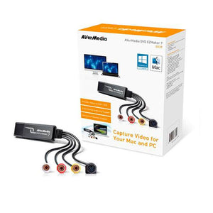 CAPTURADORA DE VIDEO AVERMEDIA C039 DVD EZMAKER 7