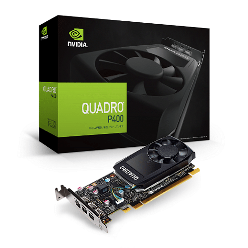 TARJETA DE VIDEO PNY QUADRO P400V2 2GB DDR5 64BIT VCQP400V2-ESPPB