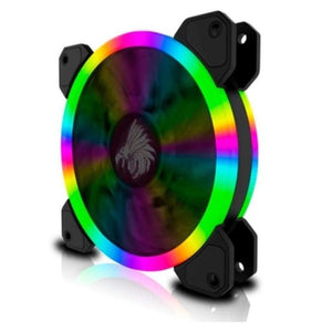 VENTILADOR EAGLE WARRIOR ORION MULTICOLOR 12 CM TUBO LED